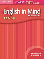 English in Mind Second edition Levels1Aand1B Combo Testmaker CD-ROM and Audio CD