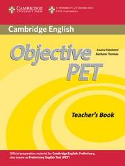 Objective PET Second edition Teacher's Book