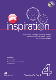 Inspiration New Edition Level 4 Teacher's Book Test &Audio CD Pack