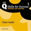 Q: Skills For Success Level 1 Reading & Writing Class Audio Cd (x2)