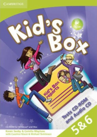 Kid's Box Levels 5-6 Tests CD-ROM and Audio CD