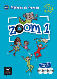 Zoom 1 – Pack de 3 CD audio