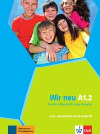 Wir neu A1.2 Studentenboek en Werkboek met Audio-CD
