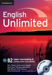 English Unlimited Combos Upper Intermediate B Combo with DVD-ROMs (2)