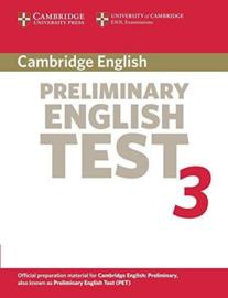 Cambridge Preliminary English Test 3 Student's Book