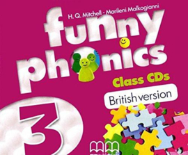 Funny Phonics 3 Class Cd (British Edition)