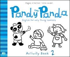 Pandy The Panda 2 Activity Book