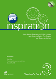 Inspiration New Edition Level 3 Teacher's Book Test & Audio CD Pack