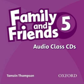 Family and Friends 5: Class Audio CD
