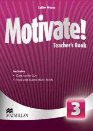 Motivate! Level 3 Teacher's Book & Audio CD & Test CD Pack