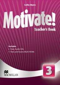 Motivate! Level 3 Teacher's Book & Audio CD & Test CD Pack