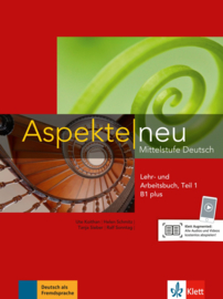 Aspekte neu B1 plus Studentenboek en Werkboek met Audio-CD Teil 1