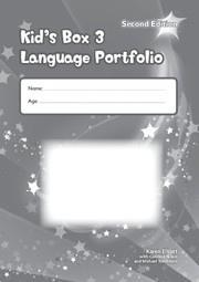Kid's Box Updated Second edition Level3 Language Portfolio