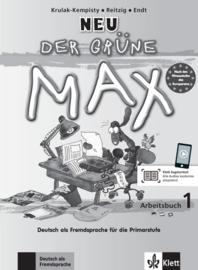 Der grüne Max NEU 1 Werkboek met Audio-CD