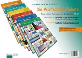 Die Wortschatz-Plakate Übungsheft en 6 Plakate