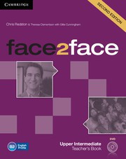 face2face Second edition UpperIntermediate Teacher's Book with DVD