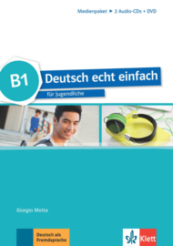 Deutsch echt einfach B1 Multimediapakket (2 Audio-CDs + DVD)
