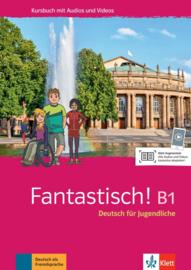 Fantastisch! B1 Studentenboek met Audio en Video