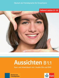 Aussichten B1.1 Studentenboek en Werkboek met 2 Audio-CDs en DVD