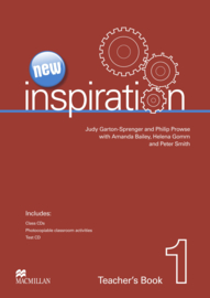 Inspiration New Edition Level 1 Teacher's Book Test & Audio CD Pack
