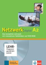 Netzwerk A2 Digitales Unterrichtspaket, DVD-ROM