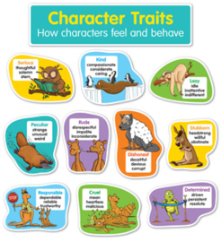 Character Traits Bulletin Board