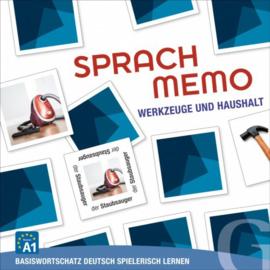 SPRACHMEMO Werkzeuge en Haushalt Sprachspiel