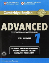 Cambridge English Advanced 1 Student's Book Pack (Student's Book with Answers and Audio CDs (2))