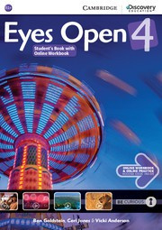 Eyes Open Level4 Student's Book with Online Workbook and Online Practice
