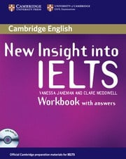 New Insight into IELTS Workbook Pack (Workbook with answers and Workbook Audio CD)