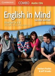 English in Mind Second edition StarterAandB Combo Audio CDs (3)