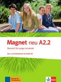 Magnet neu A2.2 Studentenboek en Werkboek met Audio-CD