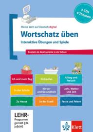 Wortschatz üben: Interactief Übungen en Spiele 3 CD-ROMs + Booklet