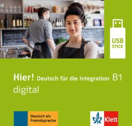 Hier! B1 digital Lehrwerk digital auf USB-Stick