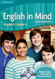 English in Mind Second edition Level4 Student's Book with DVD-ROM