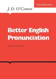 Better English Pronunciation Paperback