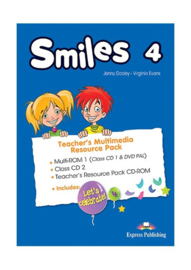 Smiles 4(pal) Teacher's Multimedia Resource Pack(set Of 3) (international)