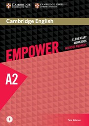 Cambridge English Empower Elementary Workbook without Answers plus Downloadable Audio