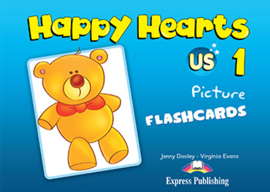 HAPPY HEARTS 1 FLASHCARDS (INTERNATIONAL)