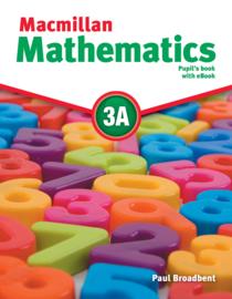 Macmillan Mathematics Level 3 Pupil's Book + eBook Pack A