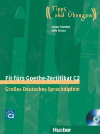 Fit fürs Goethe-Zertifikat C2 Leerboek met 2 Audio-CDs