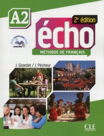 Écho - Niveau A2 - Livre de lélève + DVD-Rom + livre-web - 2ème édition