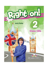 Right On! 2 Class Cds (set Of 3) (international)