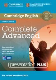 Complete Advanced Second edition Presentation Plus DVD ROM