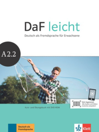 DaF leicht A2.2 Studentenboek en Übungsbuch met DVD-ROM