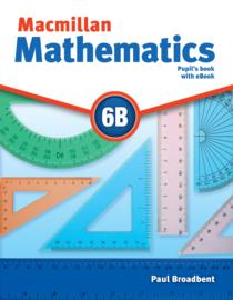 Macmillan Mathematics Level 6 Pupil's Book + eBook Pack B
