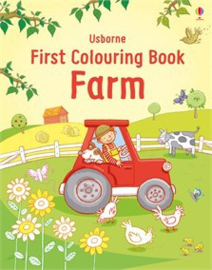First colouring book: Farm