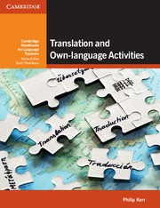 Translation and Own-language Activities Paperback