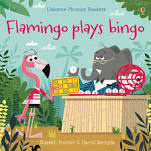 Flamingo plays bingo