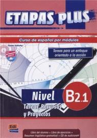 Etapas Plus B2.1. Tareas, Recursos y Proyectos - Libro del alumno/Ejercicios + CD
